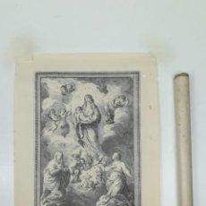 Arte: GRABADO DE SANTA JULIANA Y SEMPRONIANA, PATRONAS DE MATARÓ 1787 - FACSÍMIL Nº 117 DE 200 - 1944. Lote 198207593