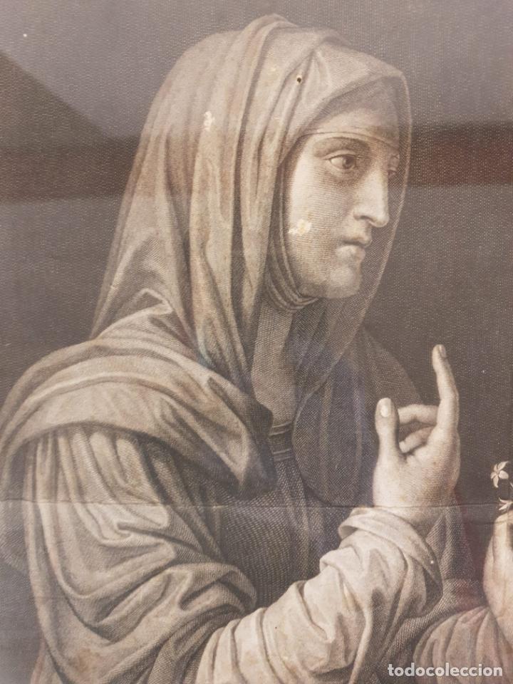 Arte: Grabado - Leonardo de Vinci - Modestia e Vanitá - Prof. Mallarini - Ang. Campanella inc - S. XVIII - Foto 3 - 198276957