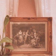 Arte: IMPRESIONANTE GRAN GRABADO FRANCÉS S.XIX. Lote 181592733