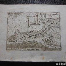 Arte: 1710 GRABADO FORTIN FABRICADO IN VANGHESES EN 1704 DE VINCENZO CORONELLI. Lote 198404565