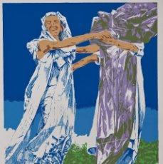 Arte: ANDRÉS NAGEL (SAN SEBASTIÁN, 1947) - S/T C.1977 - 4. Lote 198826906