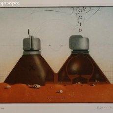 Arte: HORST RELLECKE: GÉMINIS, AGUAFUERTE DE 1981, FIRMADO Y NUMERADO. Lote 198845603