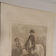 Arte: EXCELENTE GRABADO ORIGINAL 1864. 23 X 16 CM. NAPOLEON. Lote 198952287