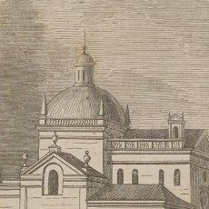 Arte: EXCELENTE GRABADO ORIGINAL DEL VIAJE ILUSTRADO. 1853. 10 X 8 CM. CAPILLA CERRALBO. CIUDAD RODRIGO. Lote 198960010
