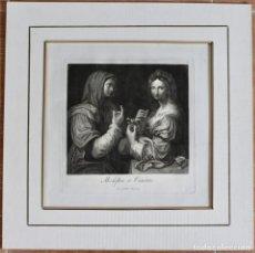 Arte: MODEFTIA ET VANITAS- LEONARDO DA VINCI- JOHANNES VOLPATI SCULP. 1770. Lote 198987036