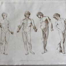 Arte: GRABADO- C.M.METZ DEL ET SCULP- BOYDELL & COMPANY - 1809 LONDON. Lote 199002966