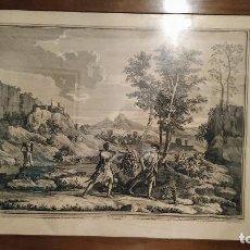 Arte: LAS CUATRO ESTACIONES. OTOÑO . NICOLAS POUSSIN (1594-1665). Lote 199243475