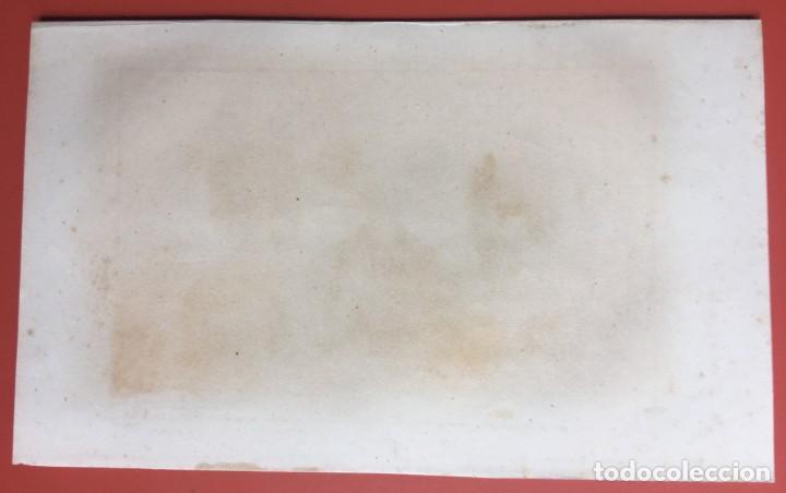 Arte: 1860 - GRABADO PAPUA NUEVA GUINEA -TRAJES JEFES DORI - TATTOO - TATUAJE - 210x120 mm - Foto 5 - 199317562