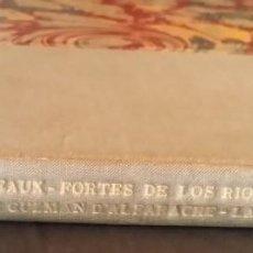 Arte: 1880, SUITE DE GRABADOS QUIJOTE, GUZMAN ALFARACHE, LAZARILLO, RICARDO DE LOS RIOS / LIBRO DE ARTISTA. Lote 199326698
