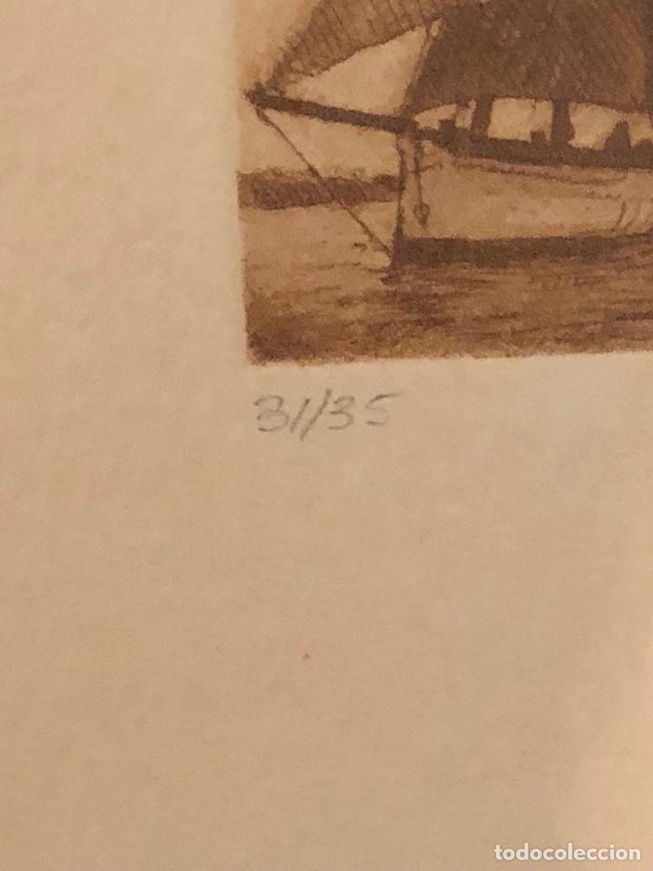 Arte: Lote de 3 grabados firmados y numerados, a clasificar - Foto 3 - 199746570