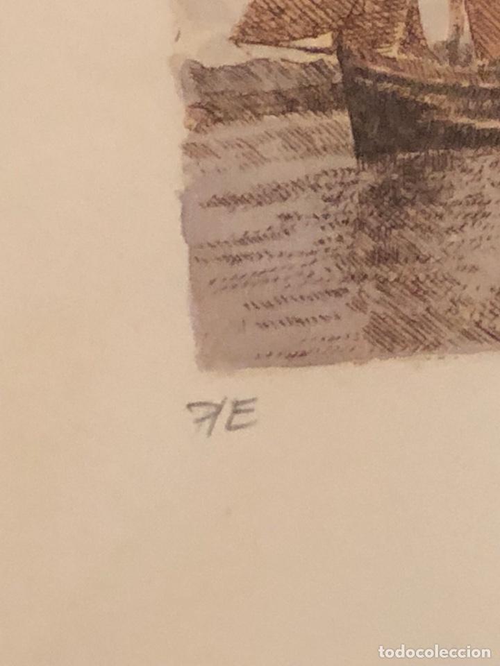 Arte: Lote de 3 grabados firmados y numerados, a clasificar - Foto 7 - 199746570