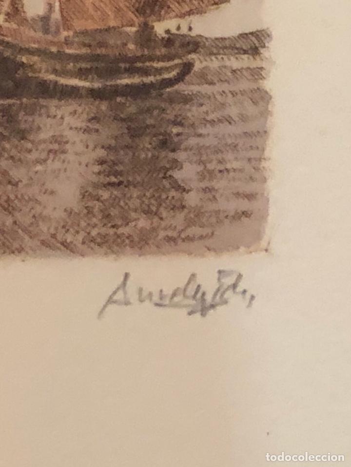 Arte: Lote de 3 grabados firmados y numerados, a clasificar - Foto 8 - 199746570
