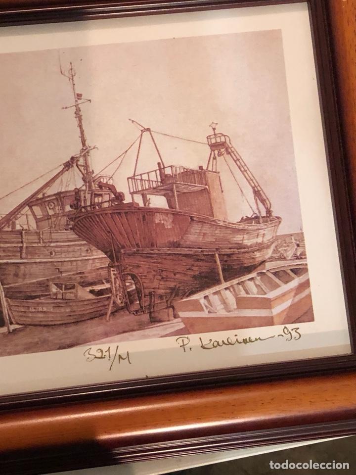 Arte: Lote de 3 grabados firmados y numerados, a clasificar - Foto 11 - 199746570