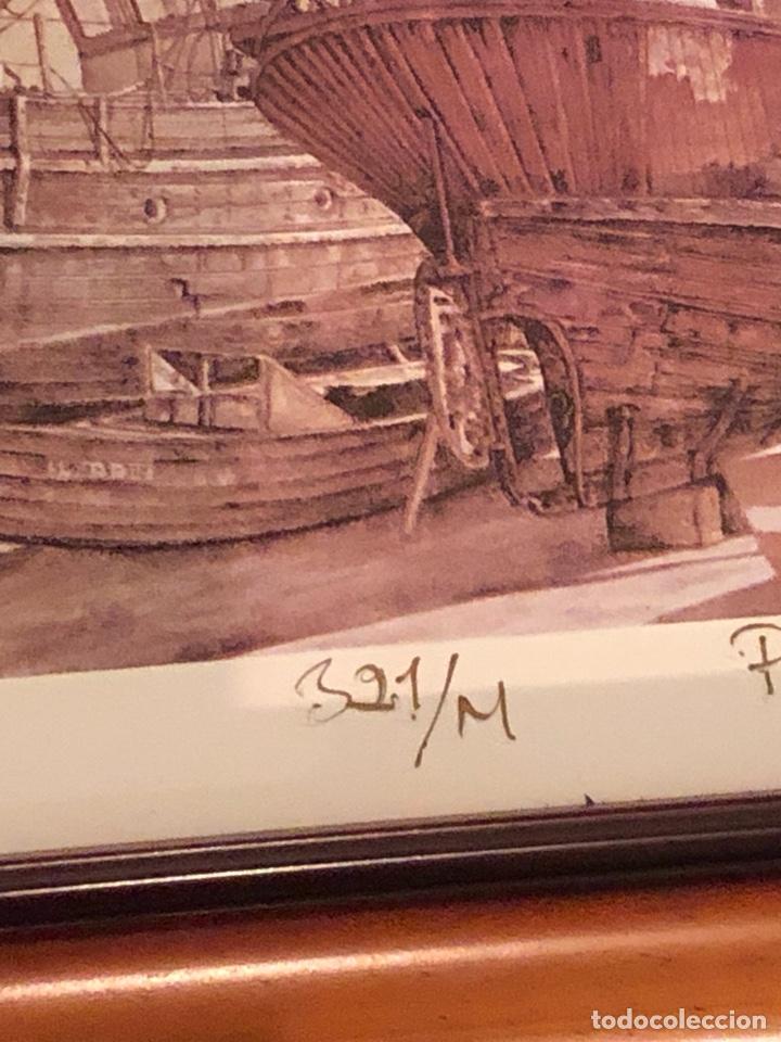 Arte: Lote de 3 grabados firmados y numerados, a clasificar - Foto 12 - 199746570
