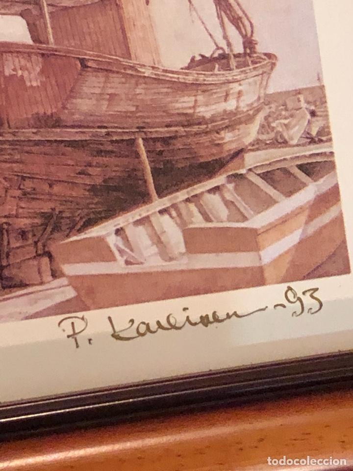 Arte: Lote de 3 grabados firmados y numerados, a clasificar - Foto 13 - 199746570