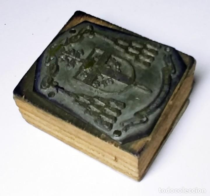 zincografía con el escudo del vicario general c - Buy Contemporary  Engravings 20th century at todocoleccion - 199794845