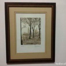 Arte: AGUAFUERTE DE JORDI PAGANS I MONSALVATJE. Lote 199811963