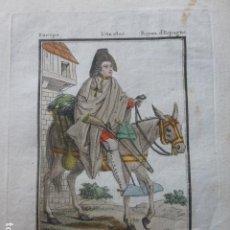 Arte: MURCIA VENDEDOR DE NARANJAS GRABADO 1805 ST. SAUVEUR Y LACHAUSEE. Lote 200620241