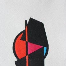 Arte: FJ CASTILLO MÁLAGA 1961 LINOGRABADO DE 20 X 26. EJEMPLAR 5/30. MUY BUEN ESTADO.. Lote 201529942