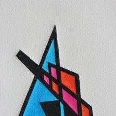 Arte: FJ CASTILLO MÁLAGA 1961 LINOGRABADO DE 20 X 26. EJEMPLAR 1/30.MUY BUEN ESTADO.. Lote 201532775