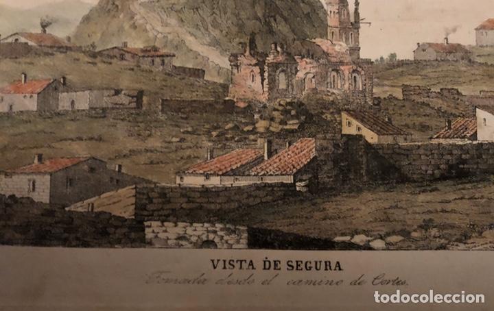 Arte: Grabado Segura Baños(Teruel)interesante. - Foto 2 - 201643830
