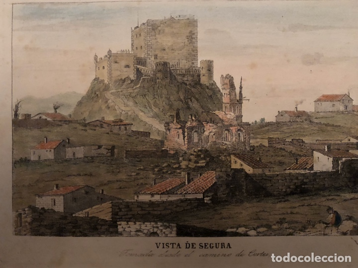 Arte: Grabado Segura Baños(Teruel)interesante. - Foto 3 - 201643830