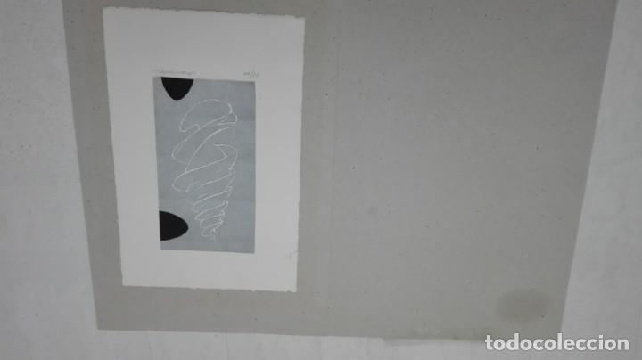 GRABADO LITOGRAFICO DE ALFONSO CINTADO. 1995 (Arte - Grabados - Contemporáneos siglo XX)