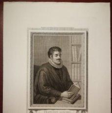 Arte: FRANCISCO SÁNCHEZ DE LAS BROZAS -BROCENSE- GRABADO DE 1791- CALCOGRAFÍA NACIONAL. EXCELENTE ESTADO. Lote 202278631
