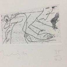 Arte: GRABADO ERÓTICO DE PERICO PASTOR. FIRMADO Y NUMERADO POR EL ARTISTA 35/60 SERIE FURSTENBERG VI. Lote 202398332