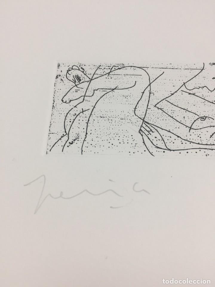 Arte: Grabado erótico de Perico Pastor. Firmado y numerado por el artista 35/60 serie Furstenberg VI - Foto 3 - 202398332