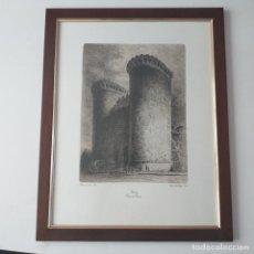 Arte: GRABADO DE LAS TORRES DE CUART. VALENCIA.. Lote 202448290