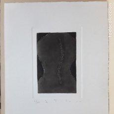 "Arte: JORDI TOLOSA, GRABADO ORIGINAL; CARPETA GRÀFICUS ""TORSOS"". Lote 202595937"