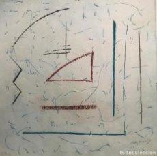 Arte: GRABADO DE ALBERT RÀFOLS CASAMADA - FIRMADO Y NUMERADO A LÁPIZ. Lote 217330408