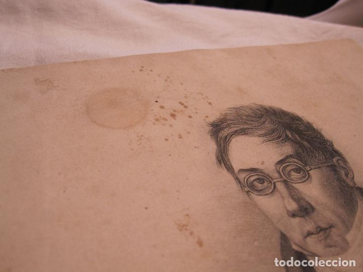 Arte: RETRATO DEL GENERAL José Joaquín Virués y López-Spínola. LITOGRAFIA. 28,5 X 20 CM - Foto 4 - 202704422