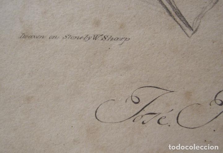 Arte: RETRATO DEL GENERAL José Joaquín Virués y López-Spínola. LITOGRAFIA. 28,5 X 20 CM - Foto 8 - 202704422