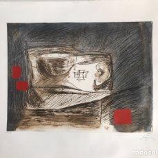 Arte: GRABADO DE ANTONI TÀPIES - NUMERADO Y FIRMADO A LÁPIZ. Lote 202896211