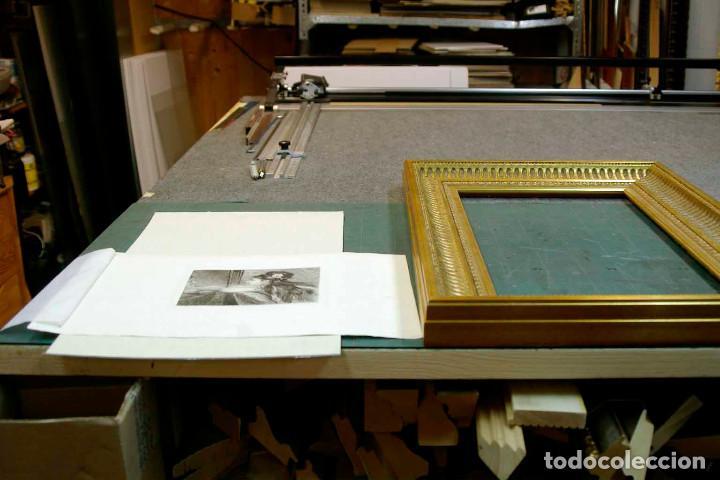 Arte: COQUETTERIE STEVENS BOETZEL 1875 grabado cuadro - Foto 3 - 202942440