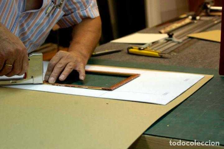Arte: COQUETTERIE STEVENS BOETZEL 1875 grabado cuadro - Foto 12 - 202942440