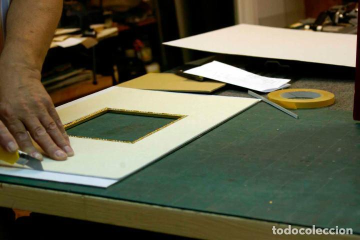 Arte: COQUETTERIE STEVENS BOETZEL 1875 grabado cuadro - Foto 14 - 202942440