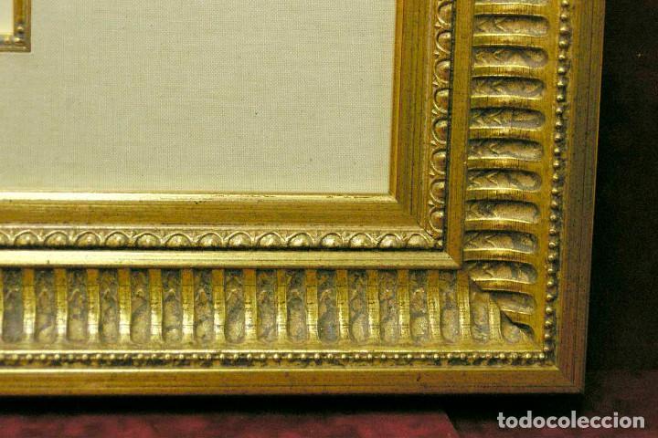 Arte: COQUETTERIE STEVENS BOETZEL 1875 grabado cuadro - Foto 24 - 202942440