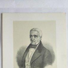 Arte: D. MANUEL JOSE QUINTANA, LITOGRAFIA DE C. LEGRAND, MEDIDAS 17 X 24,5 CM. Lote 203054286