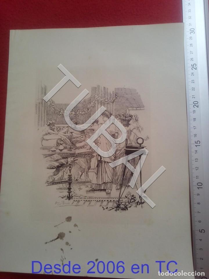 Arte: TUBAL JOSE GARCIA RAMOS SEVILLA LITOGRAFIA 100% ORIGINAL B87 - Foto 2 - 203279373