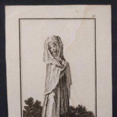 Arte: Nº 36. MEDA. ANTONIO RODRÍGUEZ (DIBUJO Y GRABADO). 1799. COLECCIÓN GENERAL TRAGES.. Lote 203295992