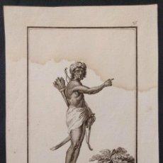 Arte: Nº 75. YSLEÑO DE SUMATRA. ANTONIO RODRÍGUEZ (DIBUJO Y GRABADO) . 1799. COLECCIÓN GENERAL TRAGES.. Lote 203296032