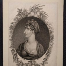 Arte: DUCHESS OF BOLTON. W. M. CRAIG DEL. MACKENZIE, SC. PUBLISCHED BY VERNOR HOOD & SHARP. OCT 1ST. 1808.. Lote 203296042