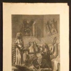 Arte: FÁTIMA O LA ROSA MISTERIOSA. BAYOT (PINTOR). N. DEMADRYL (GRABADOR). MUSEO DE LAS FAMILIAS. 1856.. Lote 203296622