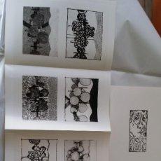 Arte: SIGILL, LIBRO DE ARTISTA, CON GRABADOS DE HANS SPERSCHNEIDER / 1/100 NUMERADO. Lote 203372465