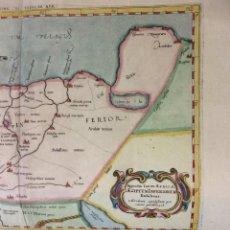 Arte: ANTIGUO MAPA NORTH AFRICA-EGYPT-NILE DELTA-PTOLEMY-MERCATOR-1698. Lote 204007683