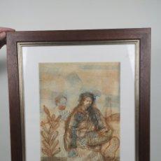 Arte: GRABADO ORIGINAL A COLOR DE MIGUEL CONDE. FIRMADO Y NUMERADO 78/100 EJEMPLARES.. Lote 204421283