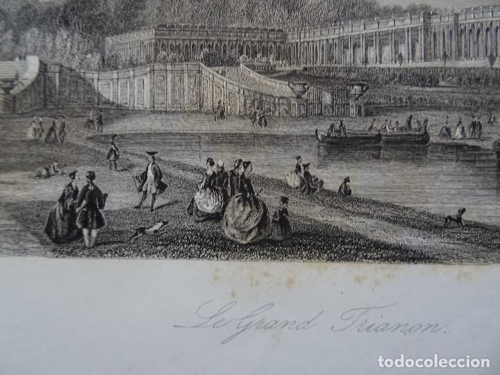 LE GRAND TRIANON, CALLOW, E. RADCLYFFE (Arte - Grabados - Antiguos hasta el siglo XVIII)